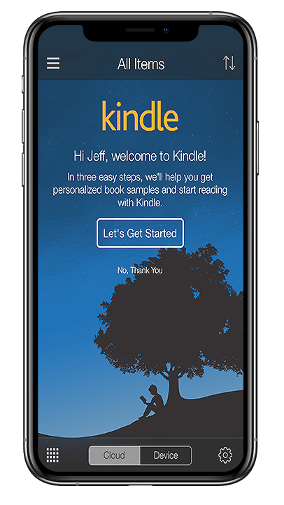 Kindle book app sataware