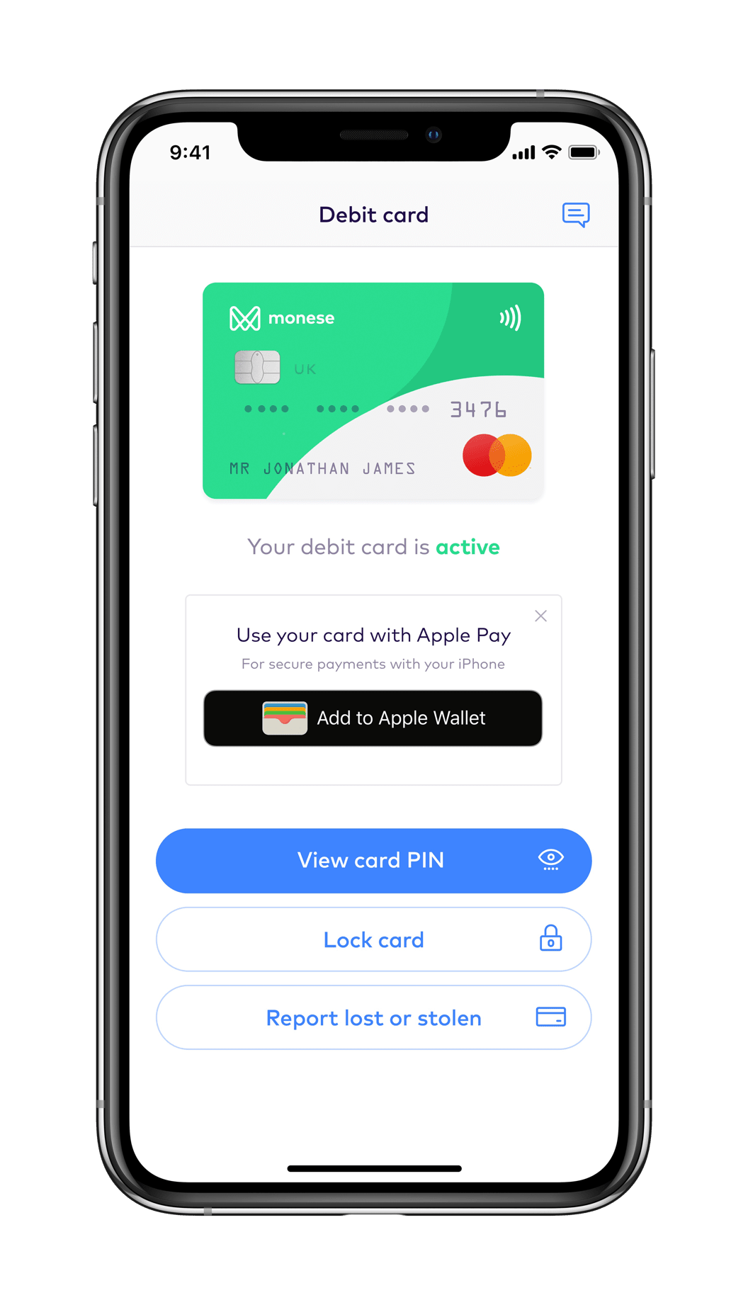 Pay with smartphone - Apple Pay