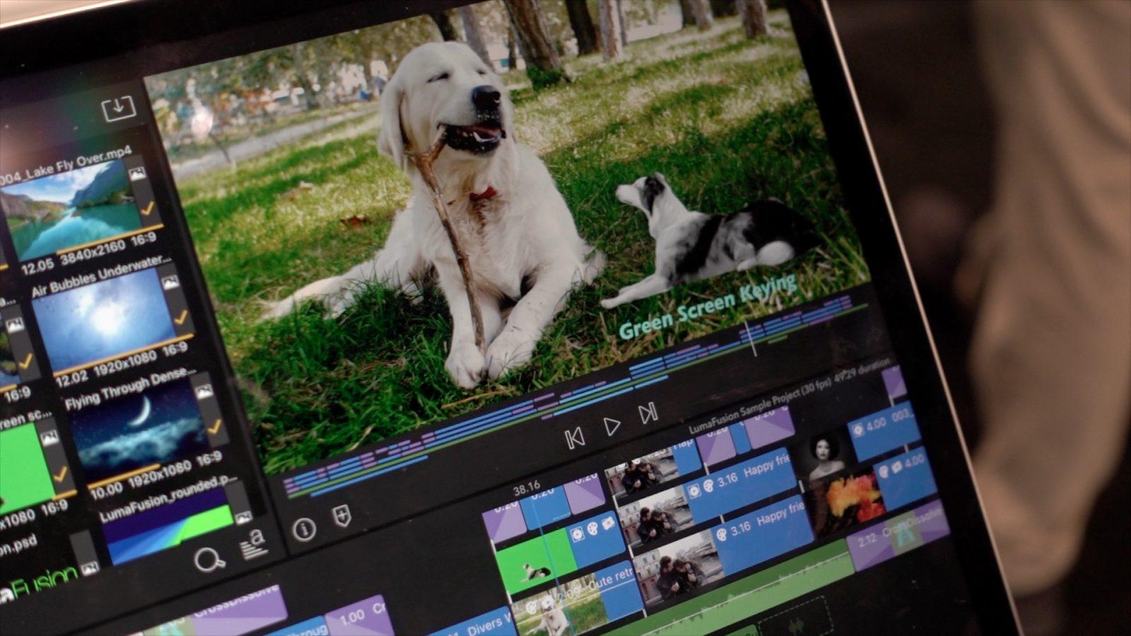Video editor app- LumaFusion