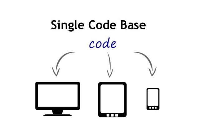 Flutter - Single code base