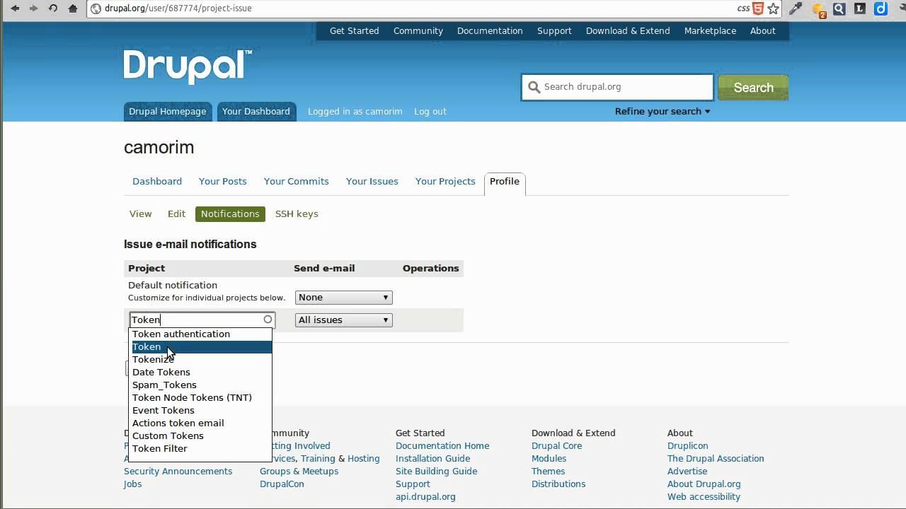 Content Management System- Drupal