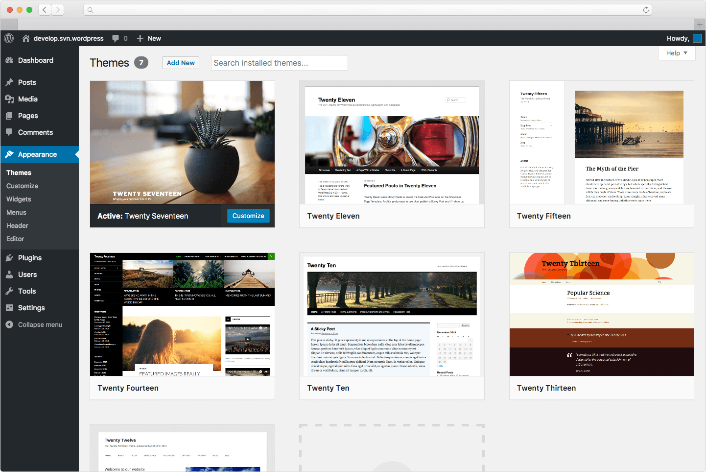 Content Management System- WordPress