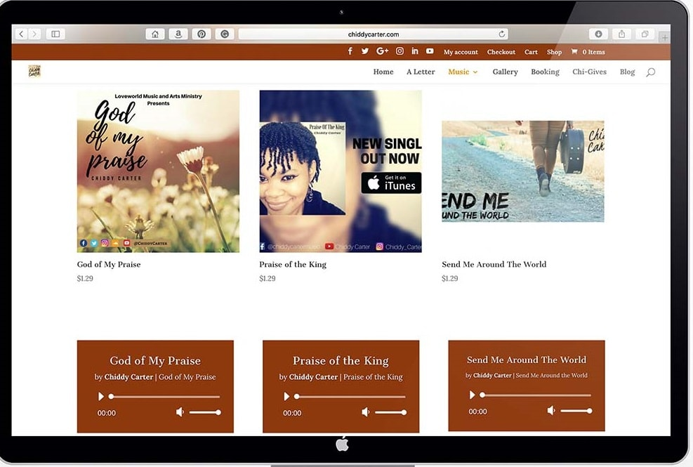 Look and Feel of a Website
