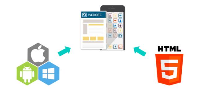 Web App development platform