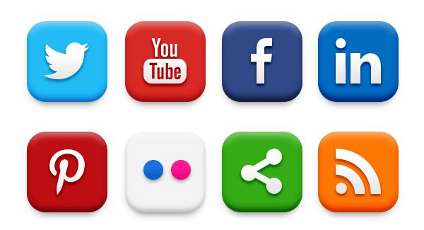 Website design- Add Social media widgets