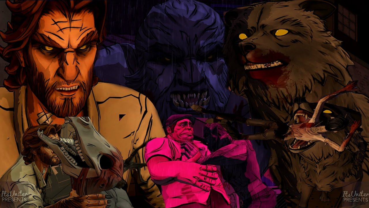 Android Adventure Game - The Wolf Among us