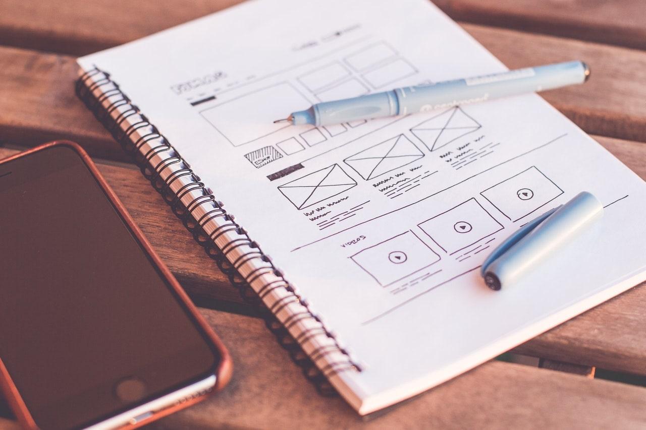 App Development- Wireframe design