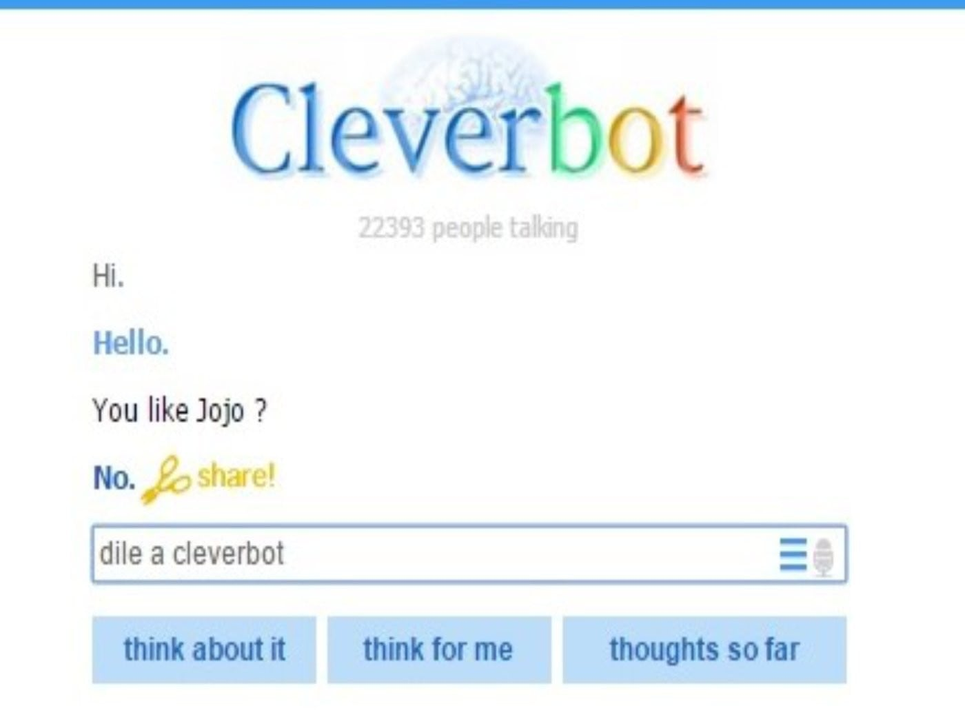Chatbot Apps - Cleverbot