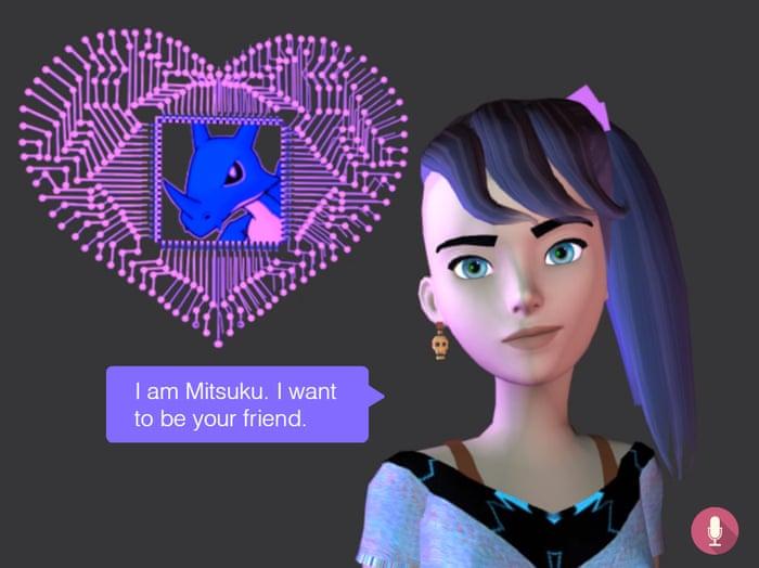 Chatbot Apps - Mitsuku chatbot