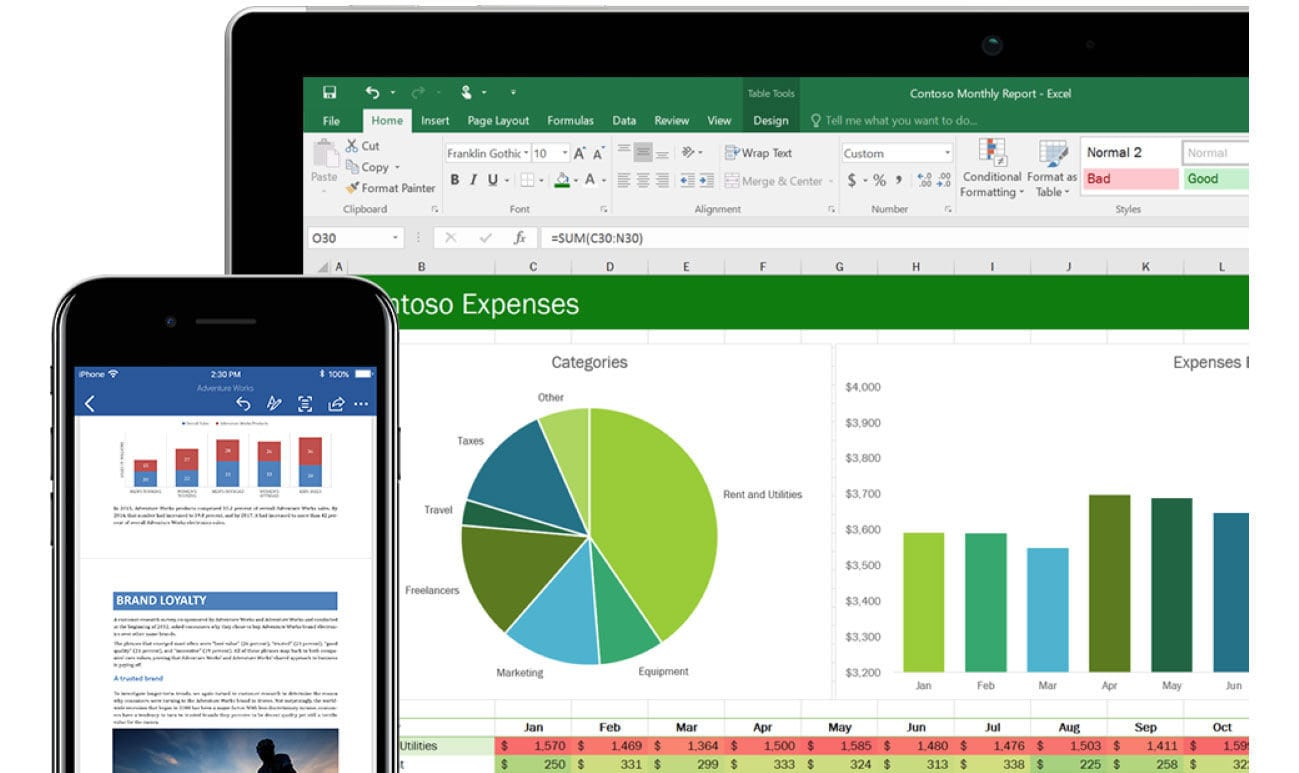 Microsoft Excel - Estimation tool