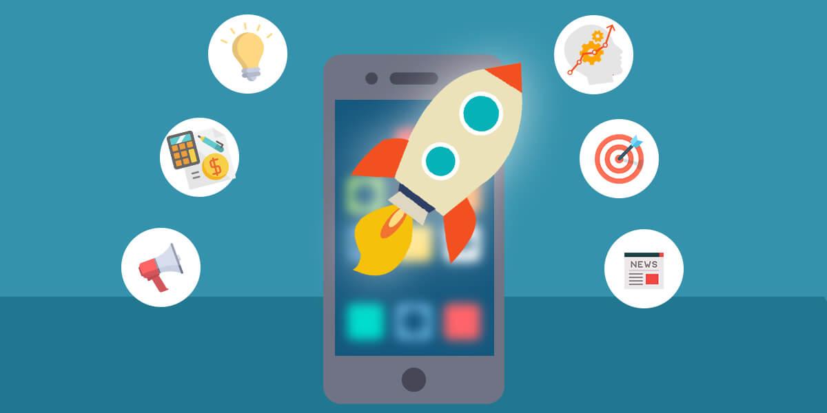 Mobile App Development Process - Launch App