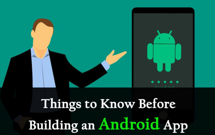 Android- Building an Android App