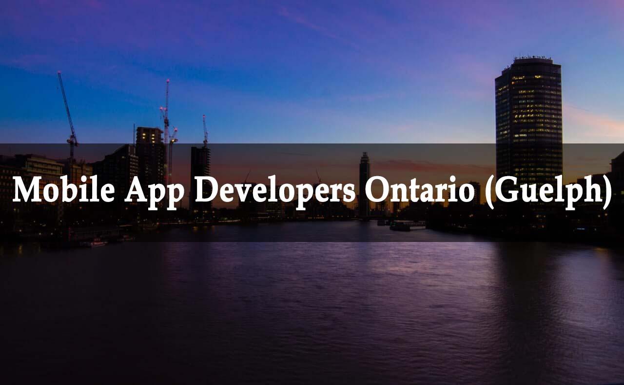App Developers Ontario | App Development Company in Ontario