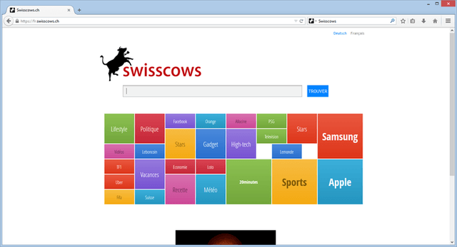 Private Search Engine -Swisscows