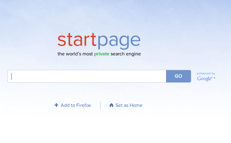 Startpage Search