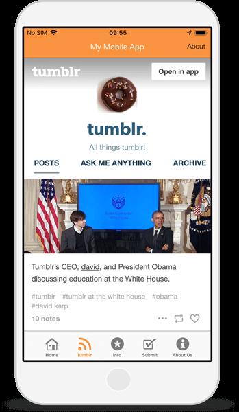 Fanfiction Sites - Tumblr