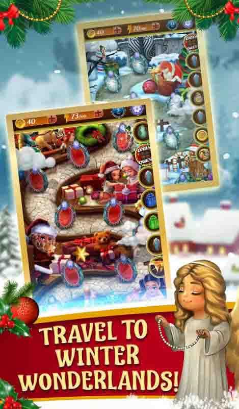 Hidden Object Christmas Magic App