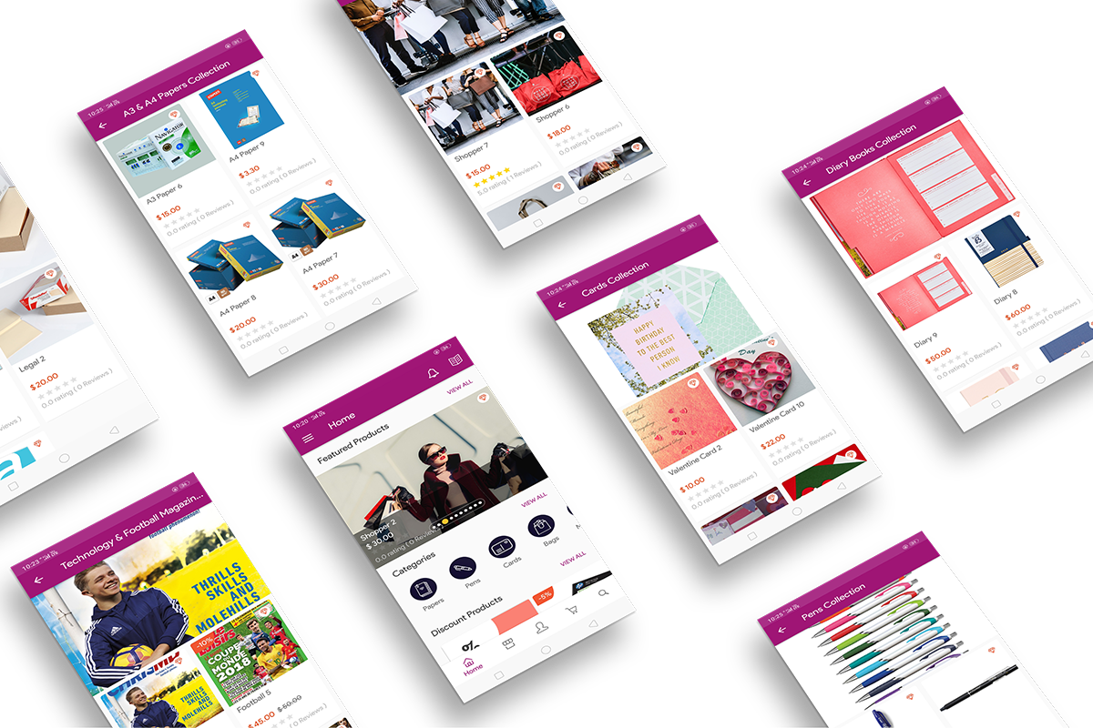 ShopyShop - More Screens