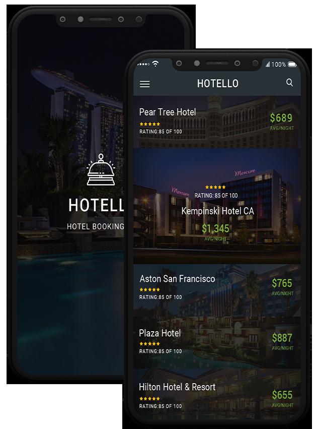 Hotello - Hotel booking