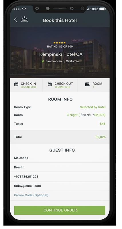 Hotello - Booking
