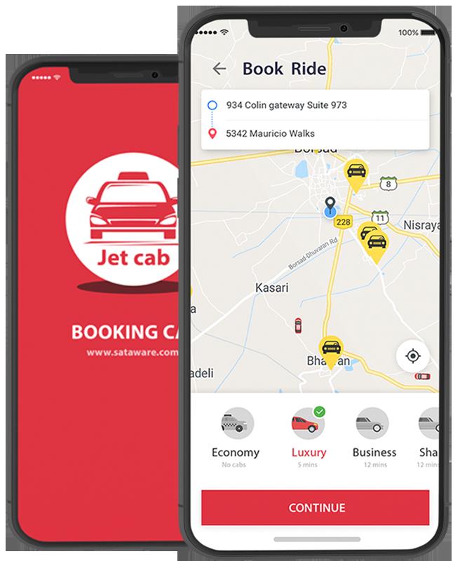 Jet Cab - Cab booking