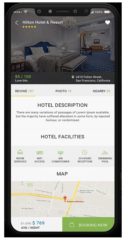 Hotello - Booking details