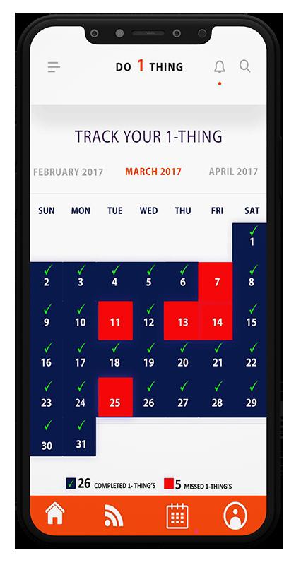 Do-1-Thing - Calendar