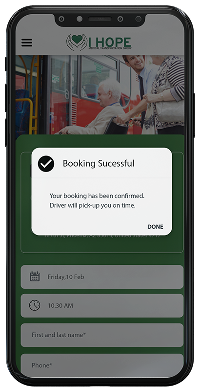 Booking Successfully