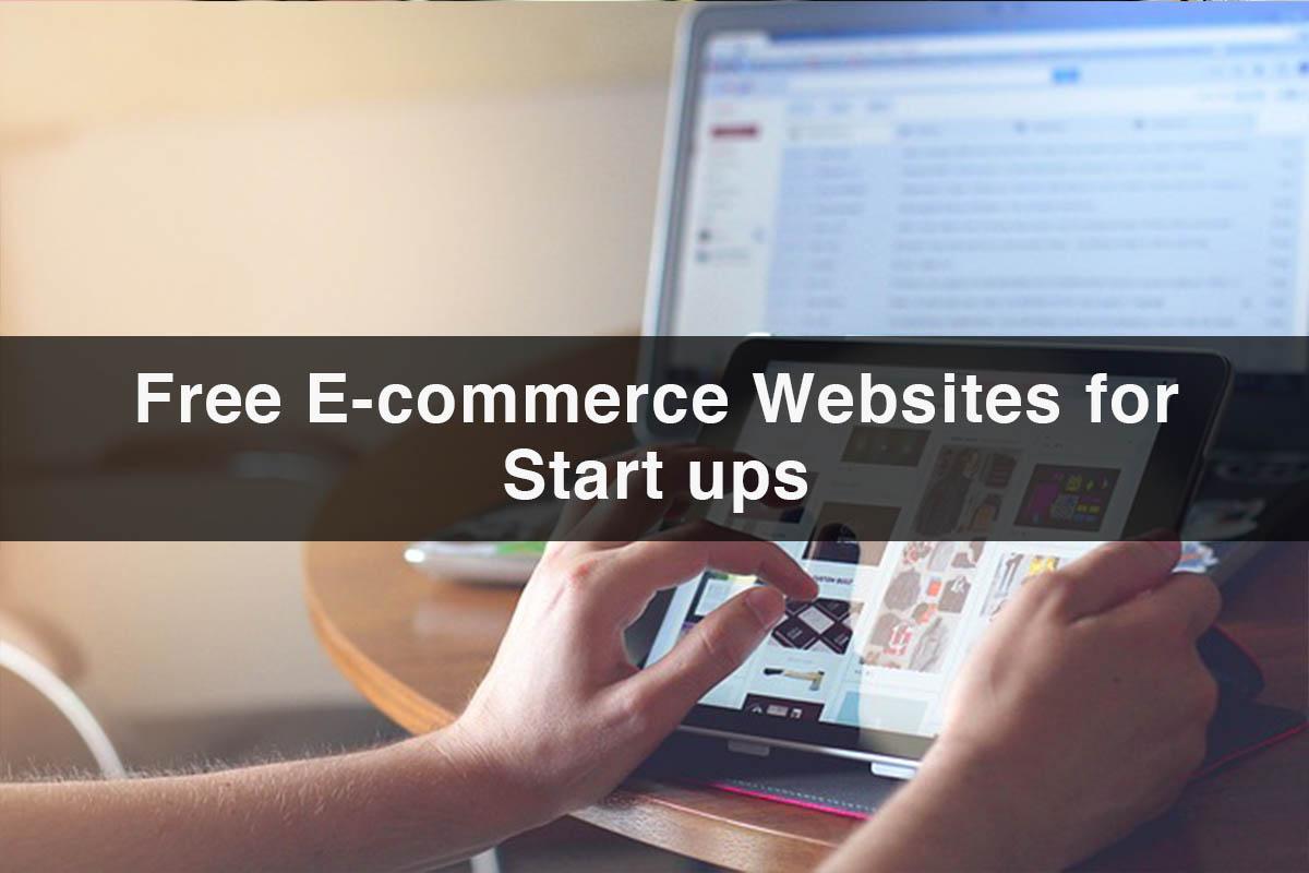E-commerce Websites | 10 Free E-commerce Website for Start-ups