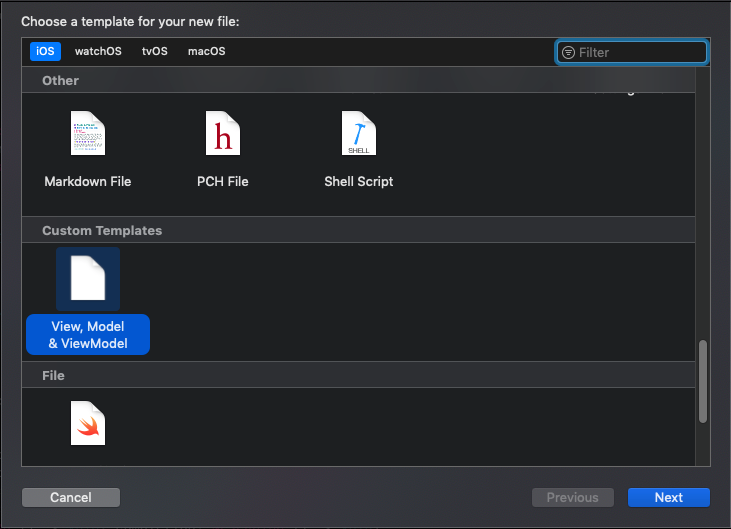 XCode Templates tutorial – How To Create Custom Template Step By Step