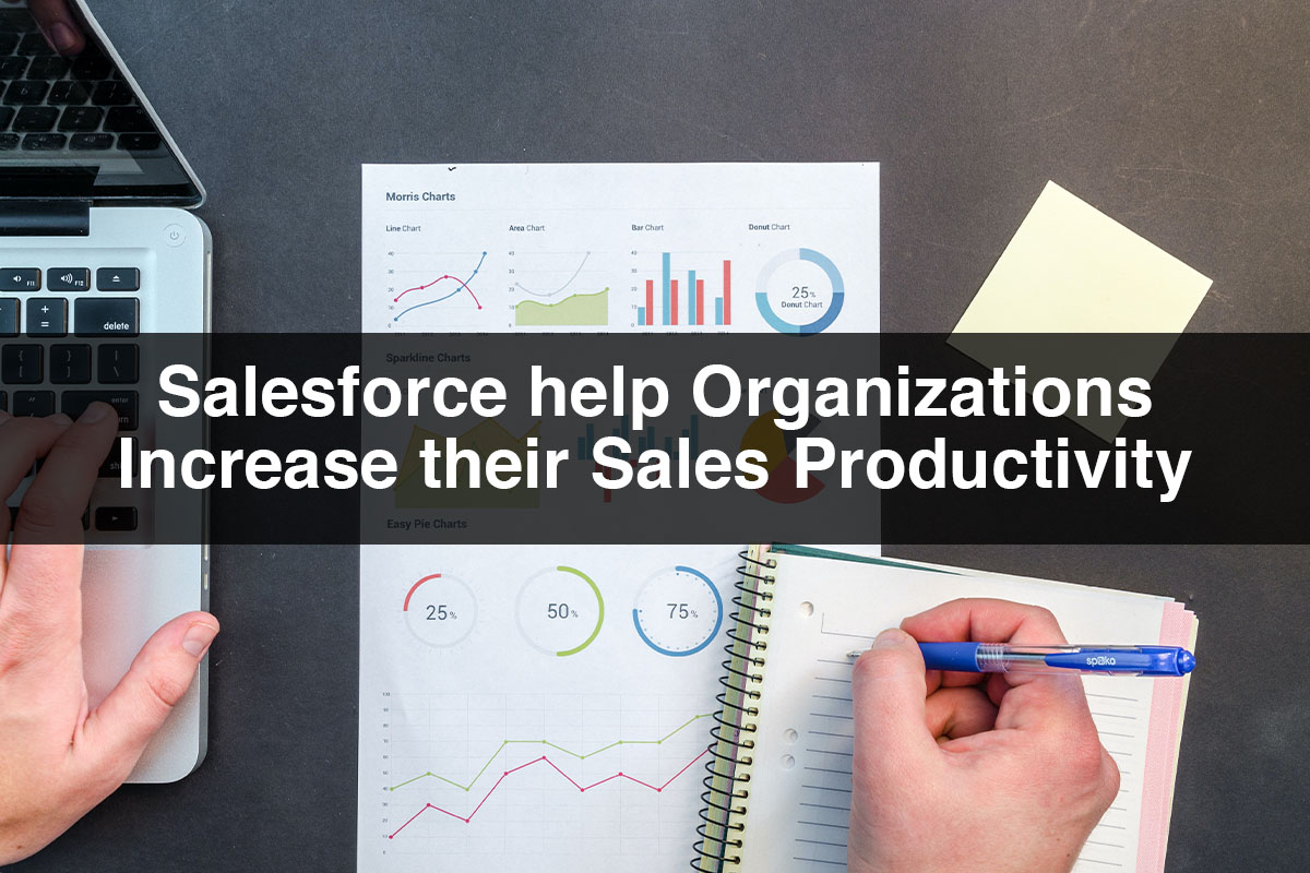 How does Salesforce help Organizations Increase their Sales Productivity?
