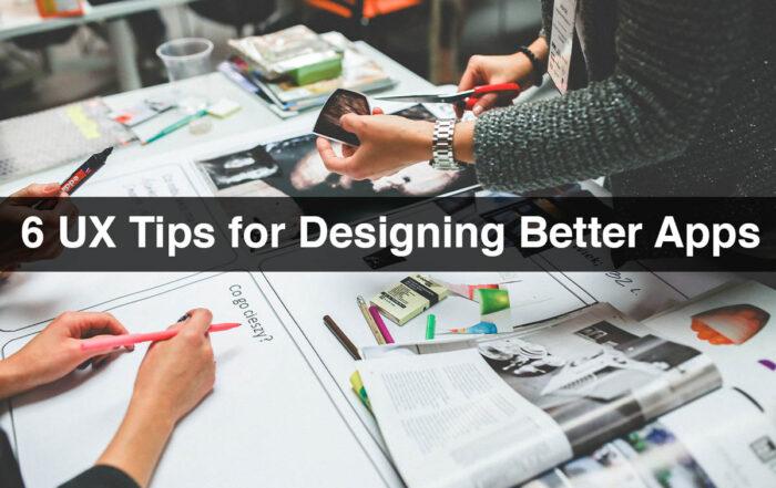 UX Tips for Design Apps